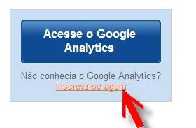 link inscrição google analytics
