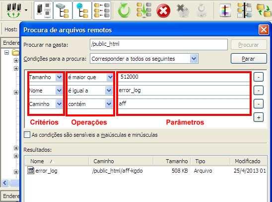 filezilla-ftp-procura-arquivos-remotos