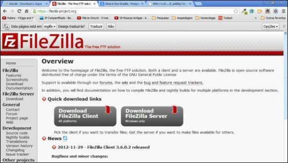filezilla-projeto
