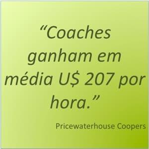 Quanto ganha um coach?