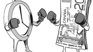 Tempo e Dinheiro A Briga