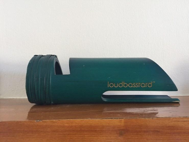 The loudbasstard eco-friendly amplifier