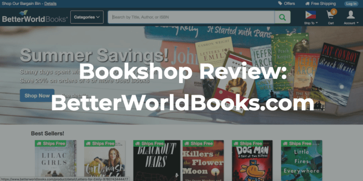 Bookshop Review: Better World Books