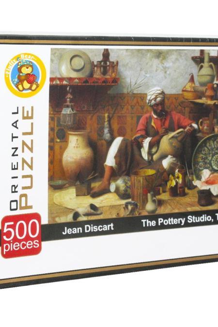 Pottery Studio Puzzle 500 Pie