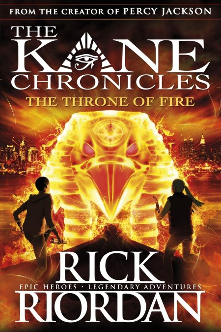 Kane Chronicles:the Throne of Fire