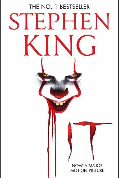 IT The classic book from Stephen King with a new film tie-in cover to IT