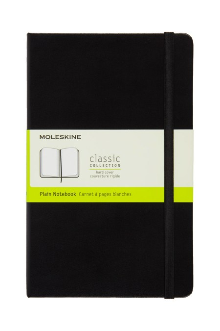 Large Plain Notebook
