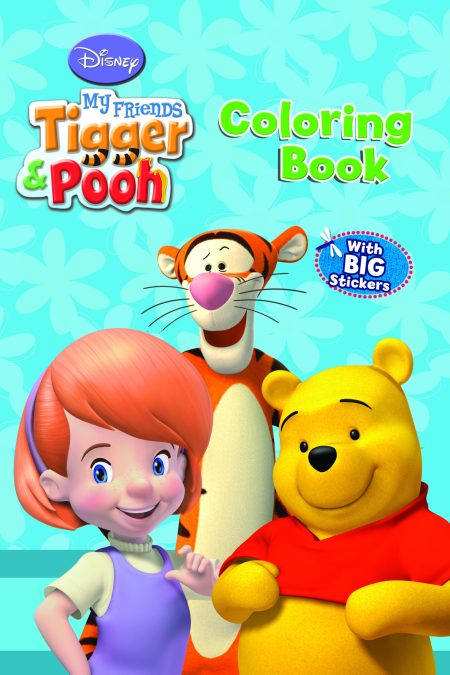 Disney My Friends Tigger and Pooh Coloring Book (6221133340342)