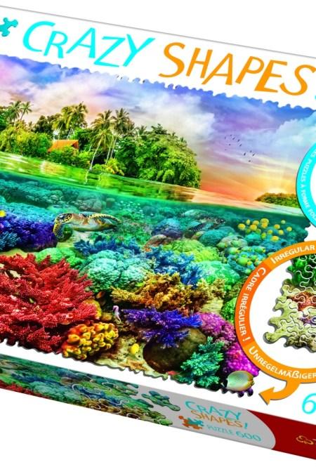 Crazy Shapes Tropical island 600(680x480) 600 crazy 11113