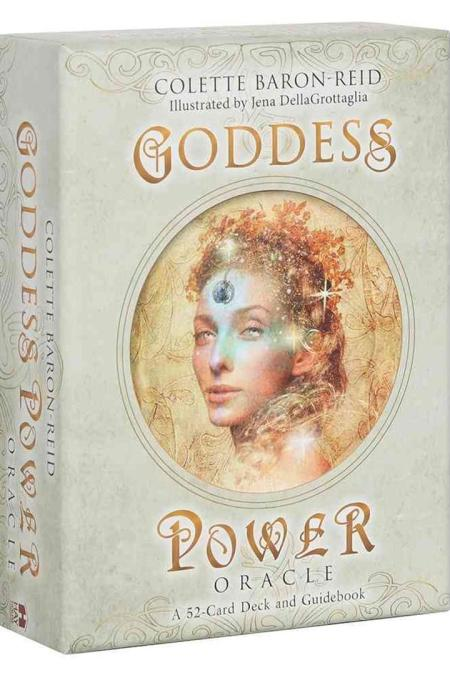 Goddess Power Oracle (Standard Edition) : Deck and Guidebook