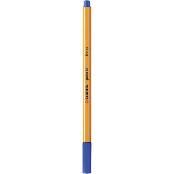 Stabilo Point 88 Dark Blue pen