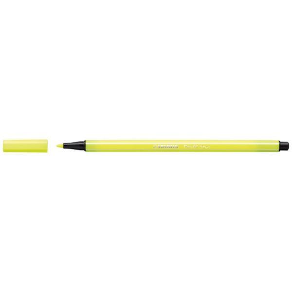 Stabilo Fluorescen Yellow pen