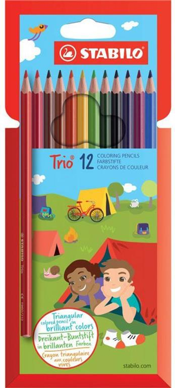 Stabilo Trio 12 Coloring Pence