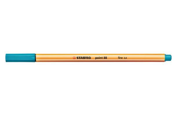 Stabilo Point 88 Turqoise pen