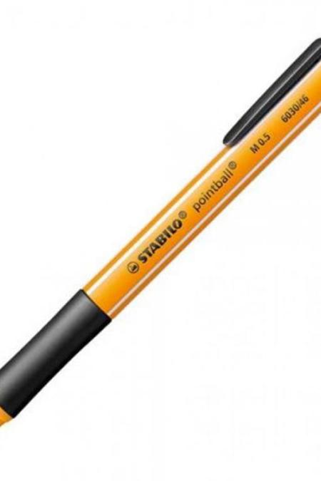 Stabilo Black Pointball pen 60