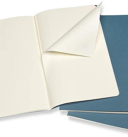 Brisk Blue Large Set of 3 Plai