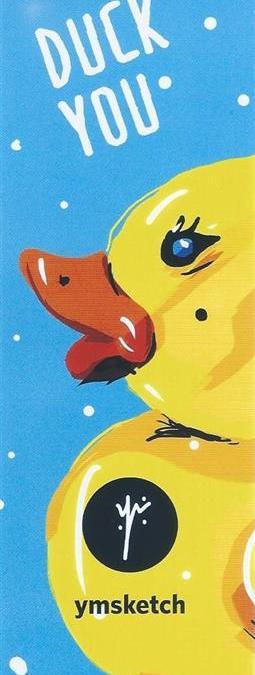 Duck Bookmark