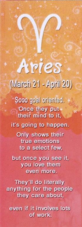 I&Y Aries Bookmark 21 Mar