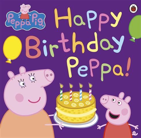 Peppa Pig: Happy Birthday Pepp