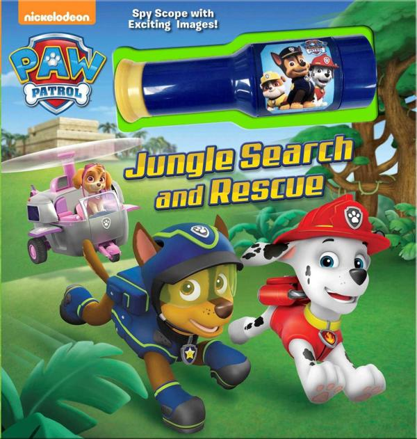 Nickelodeon Paw Patrol Jungle