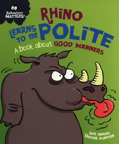 Rhino Learns to be Polite A