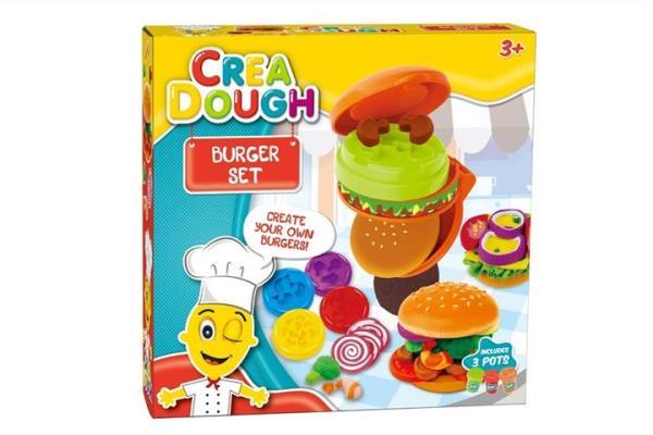 Crea Dough Burger Set 259-17