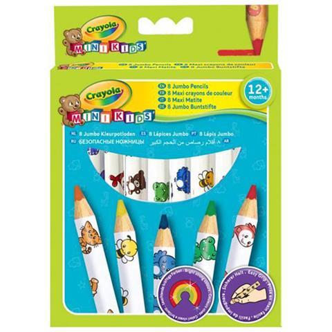 Crayola 8 Coloured Pencils Age