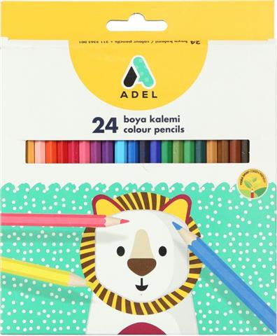 ADEL Normal Tall 24 Color Penc
