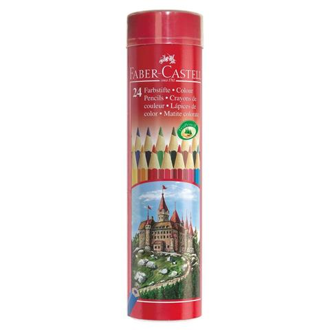 Faber-Castell 24 Smooth Bright