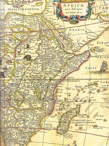 Map Africa A4 Sketch
