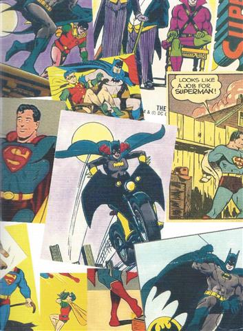 Super Heros A4 Sketch