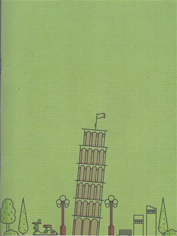 Tower Of Pisa A4 Sketch