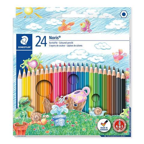 24 Colouring Pencils Noris Staedtler (144 NC24)