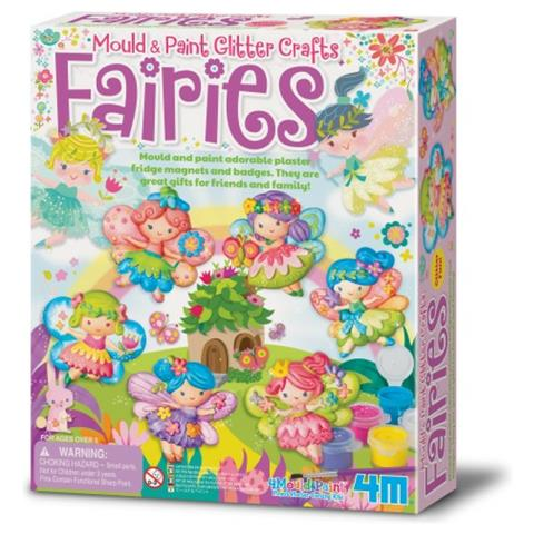 Mould and Paint Glitter Fairy (3524)