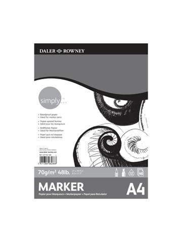 Simply Marker Pd A4 70g 40sh