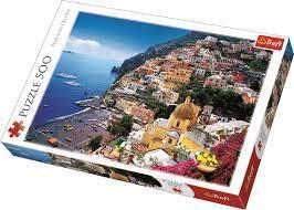 Positano Italy Trefl Puzzle Size 500 480x340 (37145)