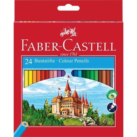 Faber Castell 24 Buntsifte