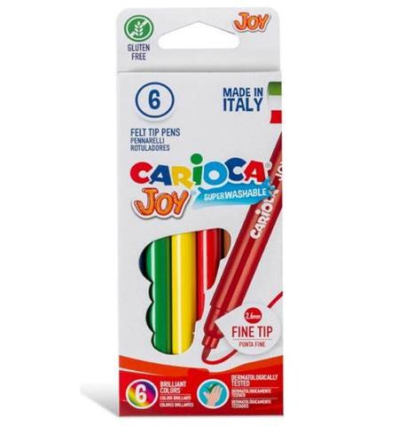Carioca - Fine Nib 6 Quality Markers Pack (40613 )