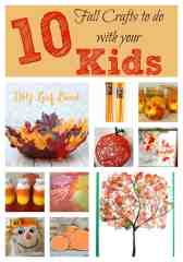 10 Fun Fall Crafts To Do With Your Kids