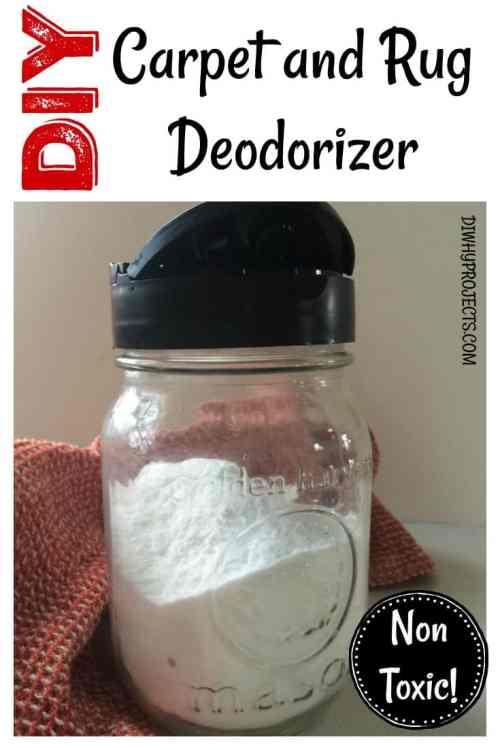 Non Toxic DIY Carpet Deodorizer