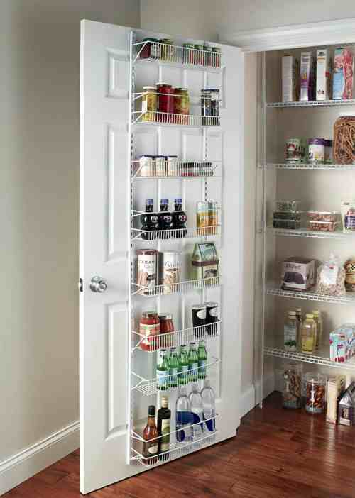 Pantry Organization Baskets, over the door storage