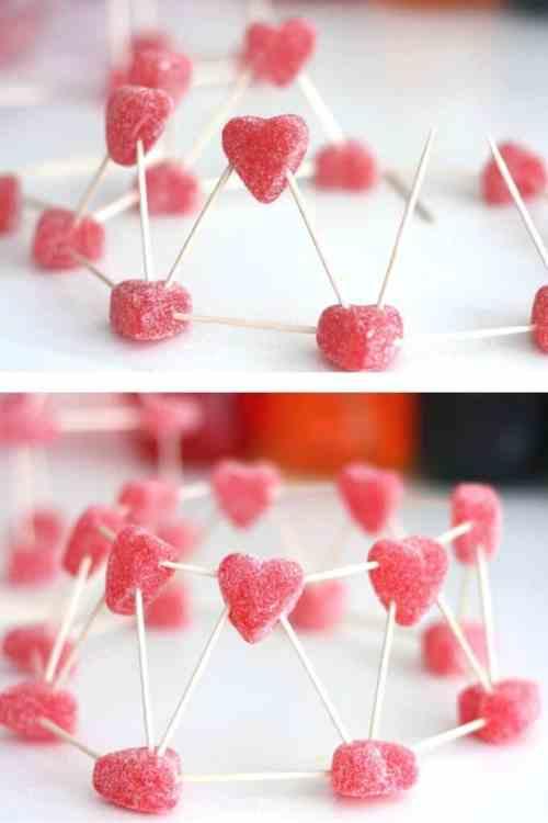 valentines hearts stem
