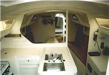 Dudley Dix Yacht Design Didi 38 Interior