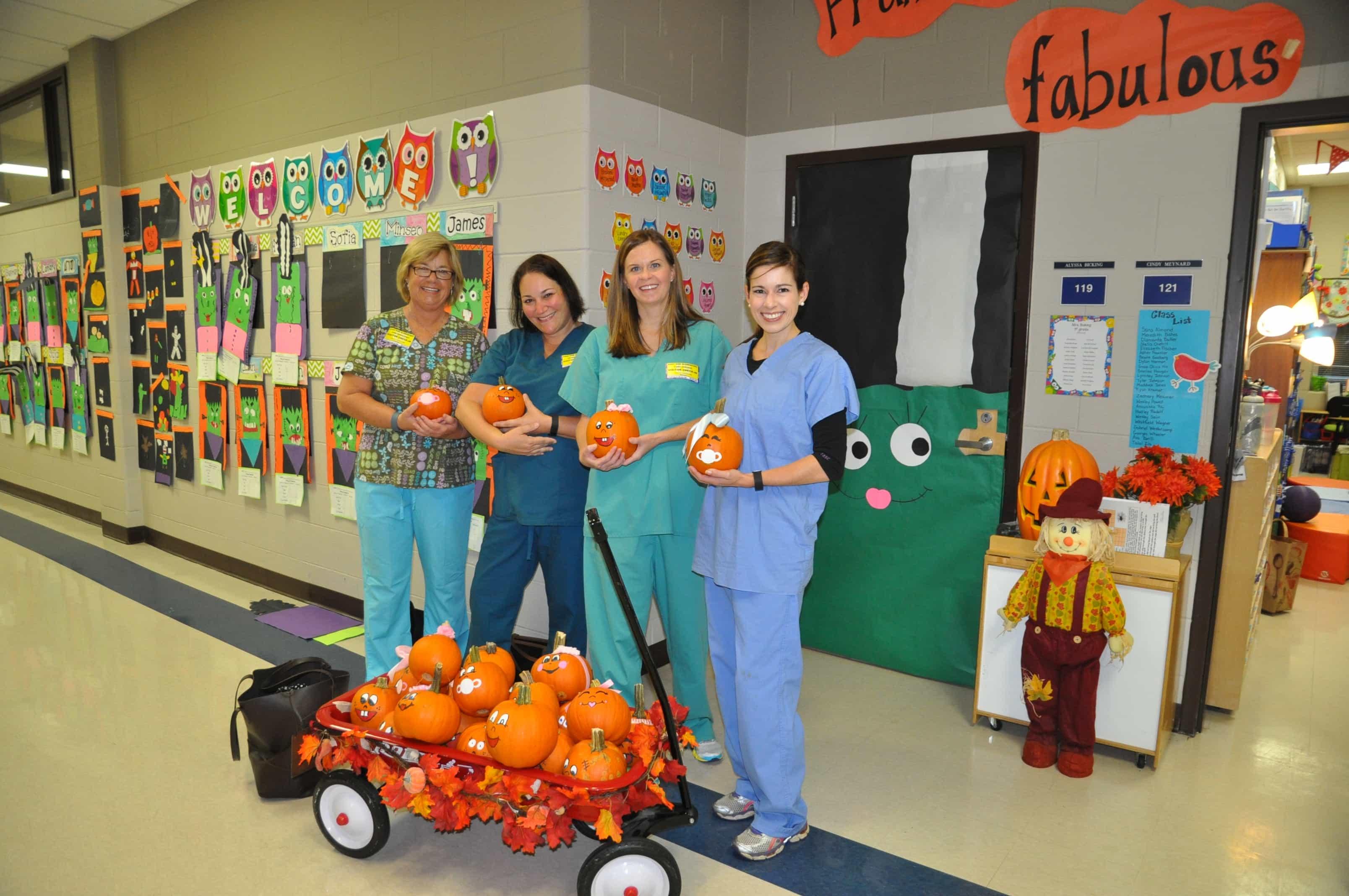 Pumpkin Babies, Teacher's Birthday + A Halloween Party – Dixie ...