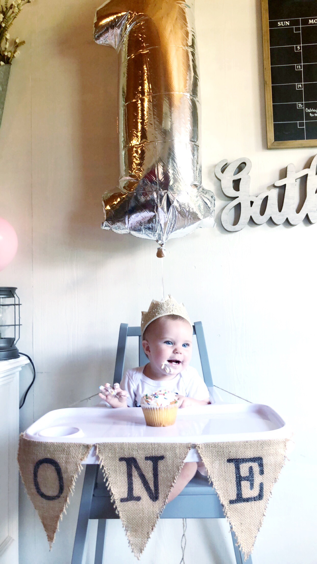 Oakley Lane is 1!