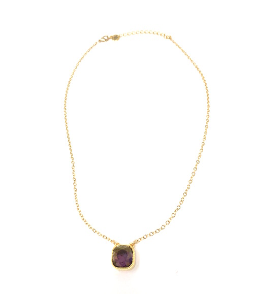 1da3a7af3 Plum Swarovski Crystal Necklace by Jessica Elliott - DRC DIXIE ...