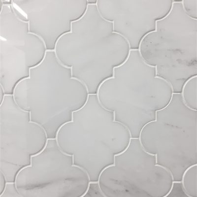 ceramic mosaic arabesque back splash