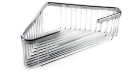 Extra Deep Corner Basket-Brushed Nickel