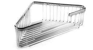 Extra Deep Corner Basket-Brushed Nickel