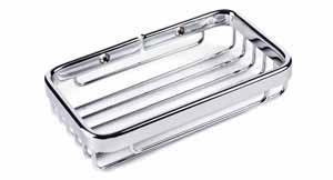 Small Soap Dish-Polished Chrome